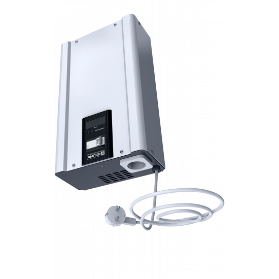Стабилизатор напряжения однофазный ЭЛЕКС АМПЕР У 9-1/10 v2.0 (2.2 кВт) для котла, для компьютера, для телевизора, для стиральной машины, для холодильника, для бытовой техники | Фото 2