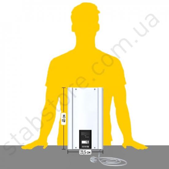 Стабилизатор напряжения однофазный ЭЛЕКС АМПЕР У 12-1/16 v2.0 (3.5 кВт) для котла, для компьютера, для телевизора, для стиральной машины, для холодильника, для бытовой техники | Фото 3