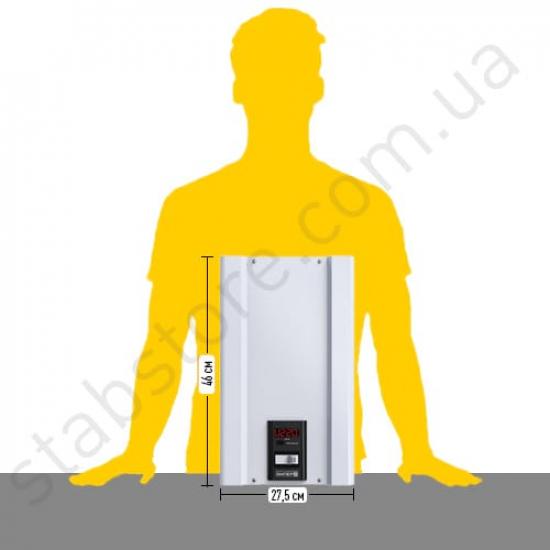 Стабілізатор напруги однофазний ЕЛЄКС АМПЕР-Р У 16-1/32 v2.0 (7 кВт) для квартири, для холодильника, для побутової техніки | Фото 3