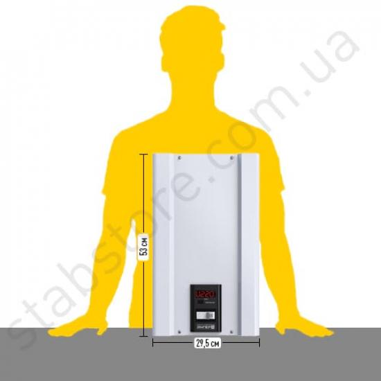 Стабилизатор напряжения однофазный ЭЛЕКС АМПЕР У 12-1/80 v2.0 (18 кВт) для дома | Фото 4