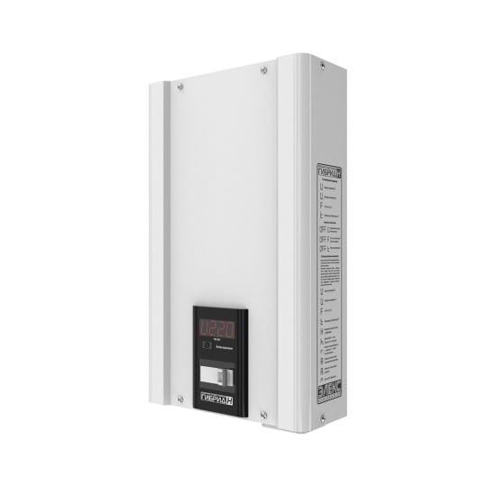 Стабилизатор напряжения однофазный ЭЛЕКС ГИБРИД У 9-1/16 v2.0 (3.5 кВт) для котла, для стиральной машины, для холодильника, для бытовой техники | Фото 1