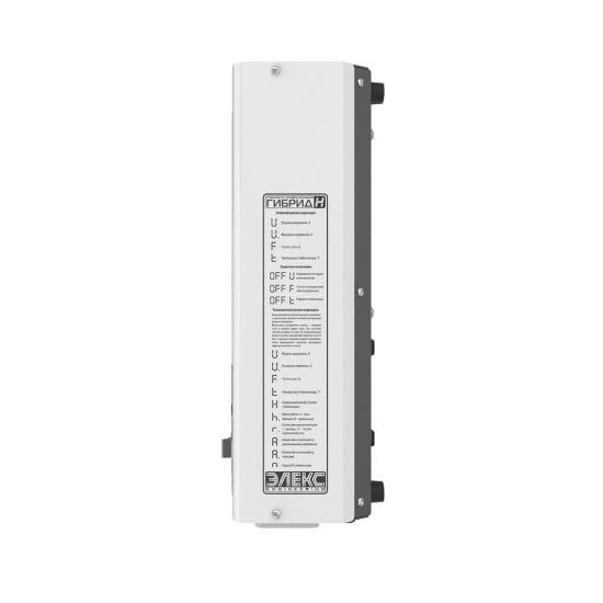 Стабилизатор напряжения однофазный ЭЛЕКС ГИБРИД У 9-1/16 v2.0 (3.5 кВт) для котла, для стиральной машины, для холодильника, для бытовой техники | Фото 4