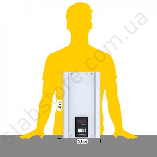 Стабилизатор напряжения однофазный ЭЛЕКС ГИБРИД У 9-1/40 v2.0 (9 кВт) для котла, для дома, для бытовой техники | Фото 3