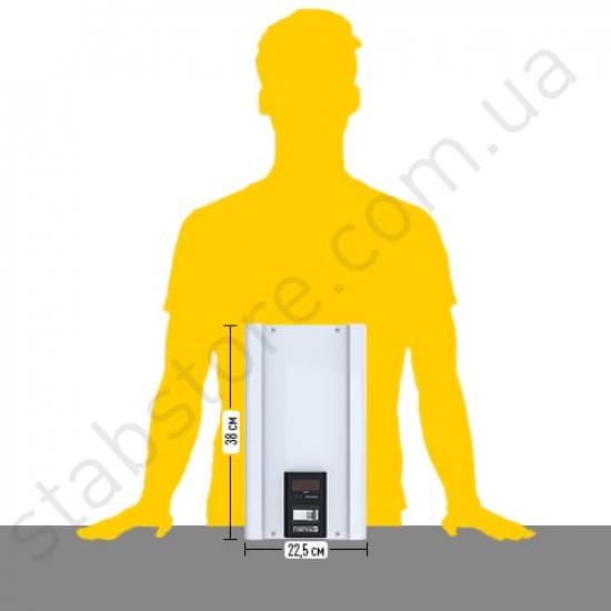 Стабилизатор напряжения однофазный ЭЛЕКС ГИБРИД У 9-1/16 v2.0 (3.5 кВт) для котла, для стиральной машины, для холодильника, для бытовой техники | Фото 3