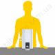 Стабилизатор напряжения однофазный ЭЛЕКС ГИБРИД У 9-1/16 v2.0 (3.5 кВт) для котла, для стиральной машины, для холодильника, для бытовой техники