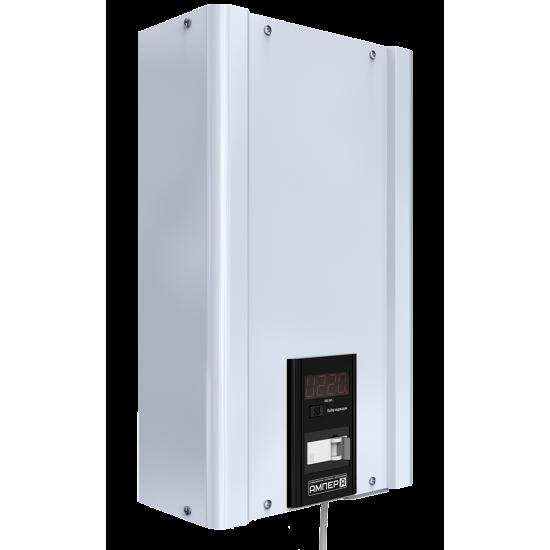 Стабилизатор напряжения однофазный ЭЛЕКС АМПЕР У 12-1/10 v2.0 (2.2 кВт) для котла, для компьютера, для телевизора, для стиральной машины, для холодильника, для бытовой техники