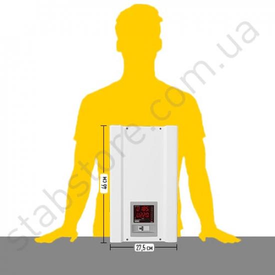 Стабилизатор напряжения однофазный ЭЛЕКС АМПЕР-Т У 16-1/32 v2.1 (7 кВт) для котла, для квартиры, для холодильника, для бытовой техники | Фото 4