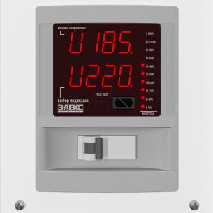 [25А/5.5 кВт] Стабилизатор напряжения однофазный ЭЛЕКС АМПЕР У 12-1/25 v2.1