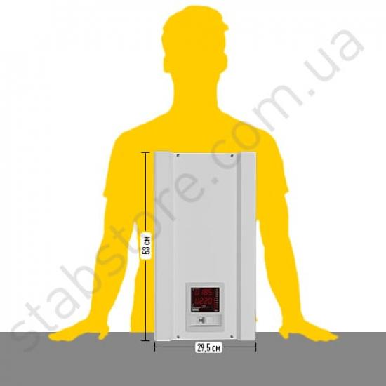 Стабилизатор напряжения однофазный ЭЛЕКС АМПЕР-Р У 16-1/63 v2.1 (14 кВт) для квартиры, для бытовой техники | Фото 3