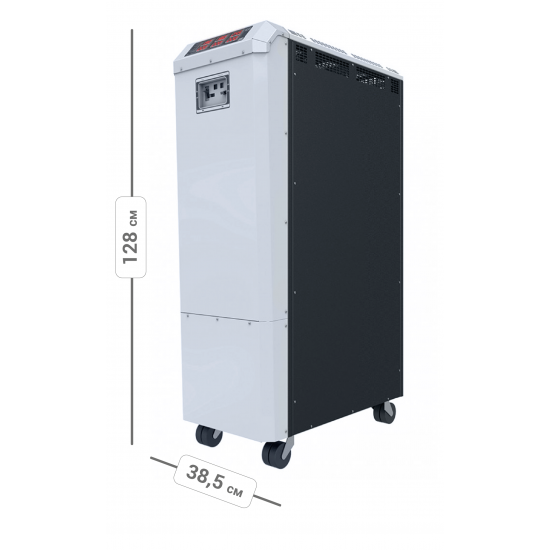 Стабилизатор напряжения трехфазный ЭЛЕКС ГЕРЦ-ПРО У 16-3/125 v3.0 (83 кВт) для дома | Фото 3