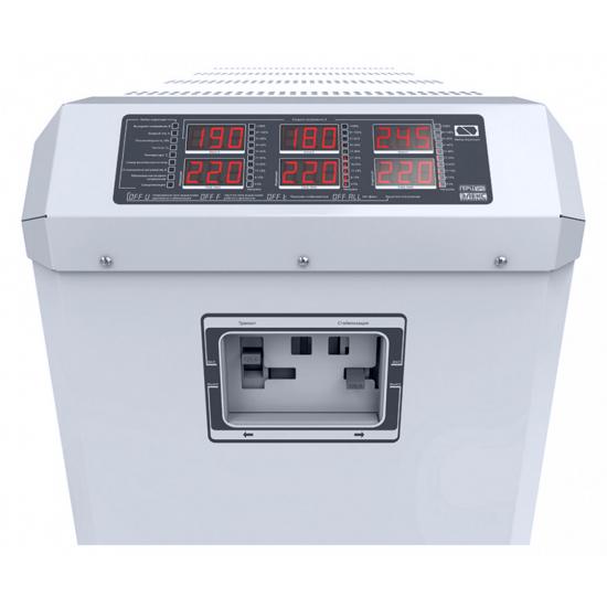 Стабилизатор напряжения трехфазный ЭЛЕКС ГЕРЦ-ПРО У 16-3/125 v3.0 (83 кВт) для дома | Фото 5