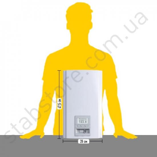 Стабилизатор напряжения однофазный ЭЛЕКС ГЕРЦ У 16-1/32 v3.0 (7 кВт) для котла, для квартиры, для компьютера | Фото 3