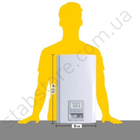 Стабилизатор напряжения однофазный ЭЛЕКС ГЕРЦ У 36-1/80 v3.0 (18 кВт) для котла, для дома, для бытовой техники | Фото 2