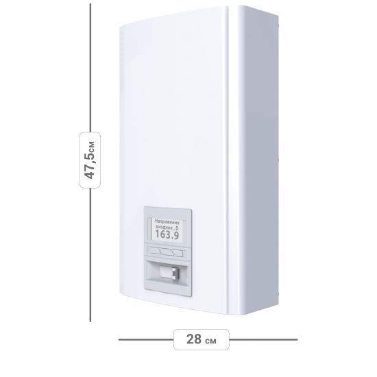 Стабилизатор напряжения однофазный ЭЛЕКС ГЕРЦ У 36-1/32 v3.0 (7 кВт) для квартиры, для компьютера, для телевизора