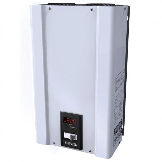 Стабилизатор напряжения однофазный ЭЛЕКС ГИБРИД У 9-1/40 v2.0 (9 кВт) для котла, для дома, для бытовой техники | Фото 7