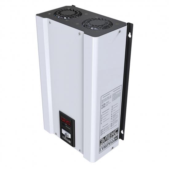 Стабилизатор напряжения однофазный ЭЛЕКС ГИБРИД У 9-1/40 v2.0 (9 кВт) для котла, для дома, для бытовой техники | Фото 4