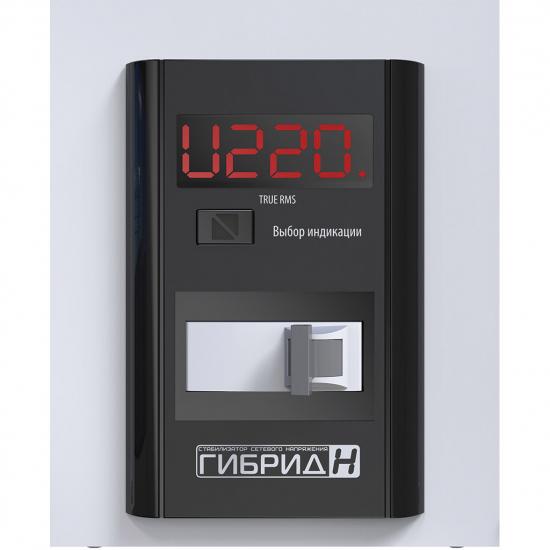 Стабилизатор напряжения однофазный ЭЛЕКС ГИБРИД У 9-1/40 v2.0 (9 кВт) для котла, для дома, для бытовой техники | Фото 8
