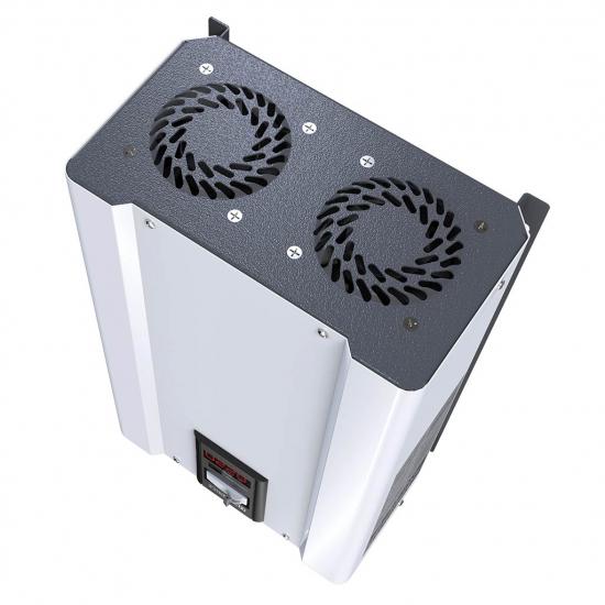 Стабилизатор напряжения однофазный ЭЛЕКС ГИБРИД У 9-1/40 v2.0 (9 кВт) для котла, для дома, для бытовой техники | Фото 6